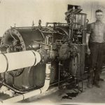 History of Franklinville, NC: Steam Power Machine